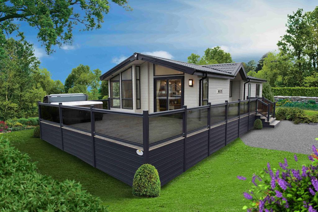2 Bed Holiday Lodge Property for Sale in Plas Coch Holiday Home Park, LL61 6EJ